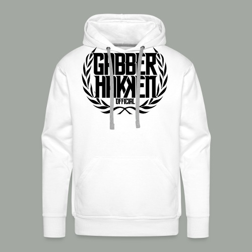 BBKK Official Black logo - Men's Premium Hoodie