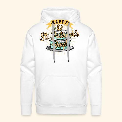 Happy St.Patricks Day T-Shirt - Männer Premium Hoodie