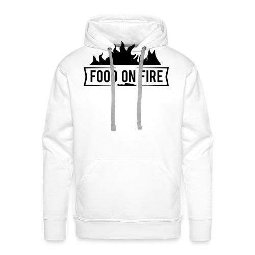 Food on Fire - Männer Premium Hoodie