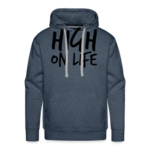 Martin Van Lectro - High on Life - Merch. - Männer Premium Hoodie