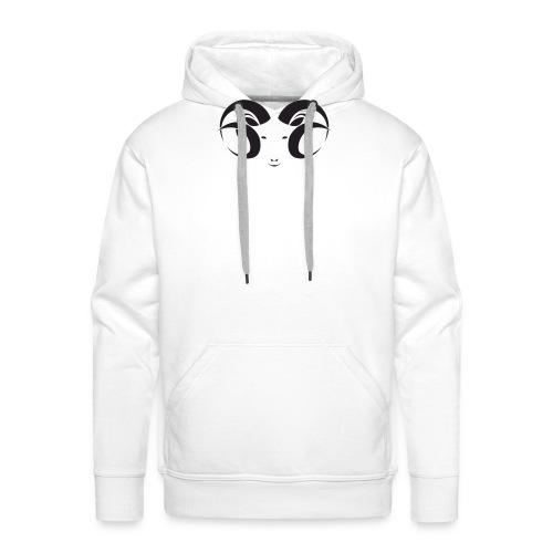 ARIES - Sudadera con capucha premium para hombre