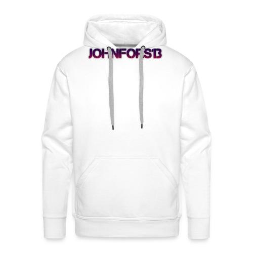 JohnFors13 Logo - Premiumluvtröja herr