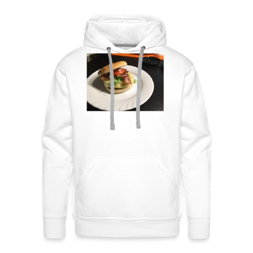 Burger - Männer Premium Hoodie