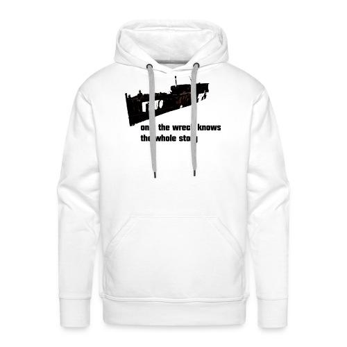 wreck shirt - Männer Premium Hoodie