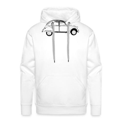 #frenchtouchshirt - Sweat-shirt à capuche Premium pour hommes