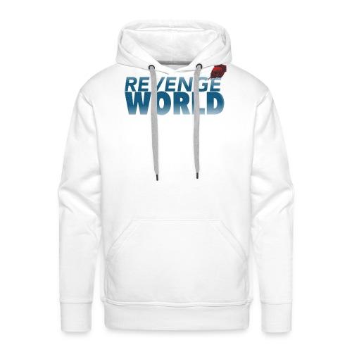 """"""" REVENGE WORLD """" ( CHOOSE WHITE - Premiumluvtröja herr"""