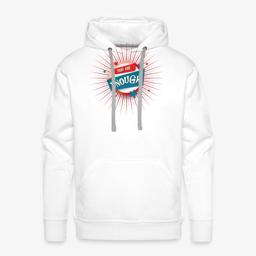 You are enough - Männer Premium Hoodie