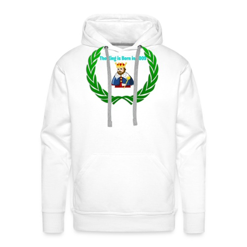 The king is born in 2009 - Männer Premium Hoodie
