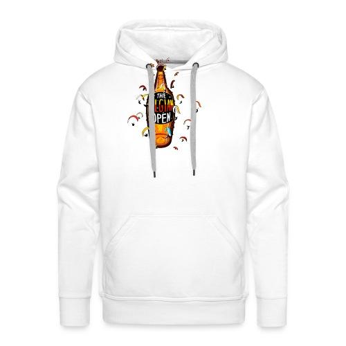 Belgian open2 - Sweat-shirt à capuche Premium pour hommes