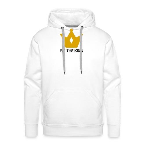 Kuningas - Miesten premium-huppari