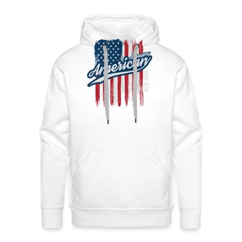 usa american dreams - Mannen Premium hoodie