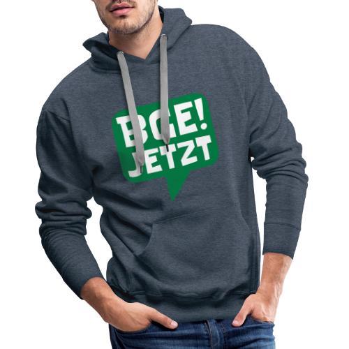 BGE! Jetzt - Die Bewegung - Männer Premium Hoodie