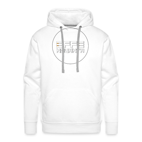Logo effeNovanta - Felpa con cappuccio premium da uomo