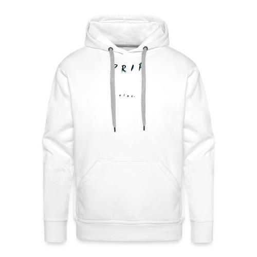 VIBE. 'D R I P' Black Design - Men's Premium Hoodie