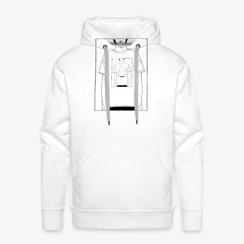 Recursion | Loop | Repeat design | Be creative - Men's Premium Hoodie