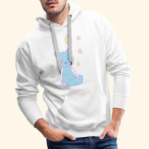 Sleepy bear - Sweat-shirt à capuche Premium pour hommes