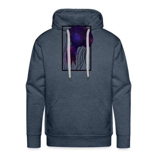 Cosmic Wave - Männer Premium Hoodie