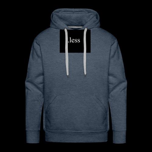 .less clothes - Männer Premium Hoodie