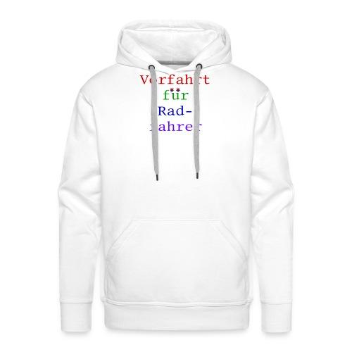 radfahrer - Männer Premium Hoodie