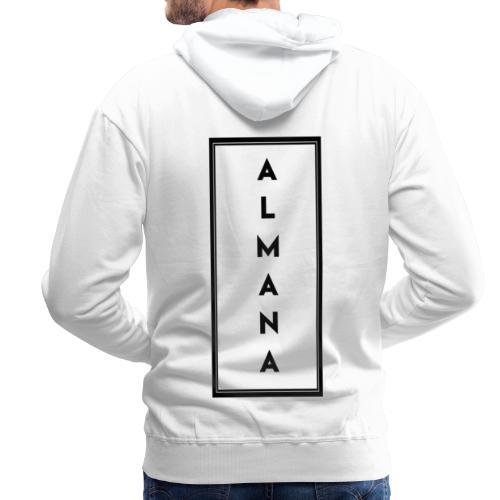 Collection Almana Back - Sweat-shirt à capuche Premium pour hommes