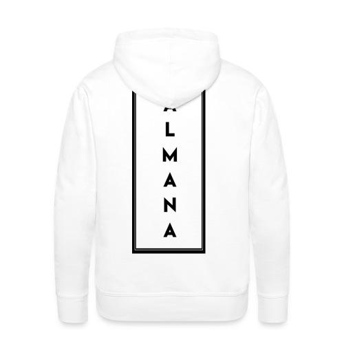 """Collection """"Almana Back"""" - Sweat-shirt à capuche Premium pour hommes"""