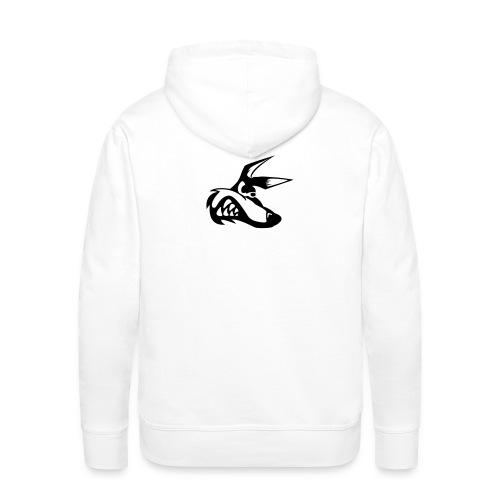 chacals nom png - Sweat-shirt à capuche Premium pour hommes