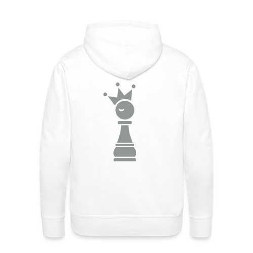 Winky Chess King - Mannen Premium hoodie