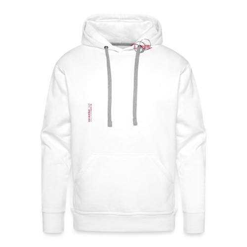 logo trainingsjacke vorne - Männer Premium Hoodie