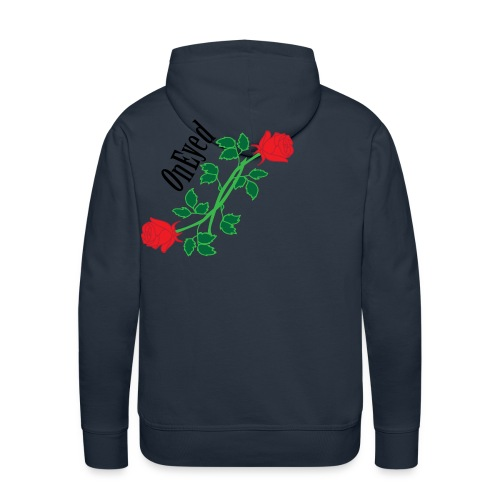 OnEyed Roses - Mannen Premium hoodie