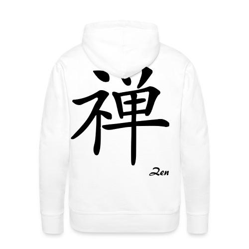 signe chinois zen - Sweat-shirt à capuche Premium pour hommes