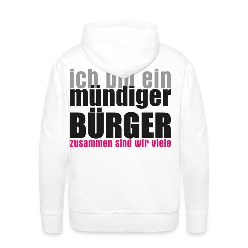 muendiger_buerger - Männer Premium Hoodie