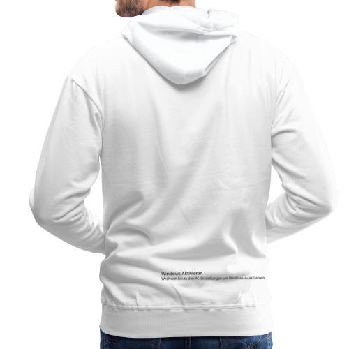 Windows aktivieren - Männer Premium Hoodie