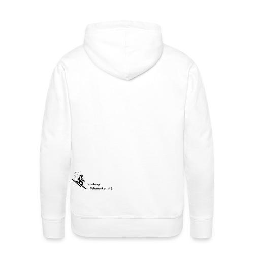 logo tannbergtelemarker - Männer Premium Hoodie