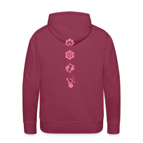 Spiritual Flow - Mannen Premium hoodie