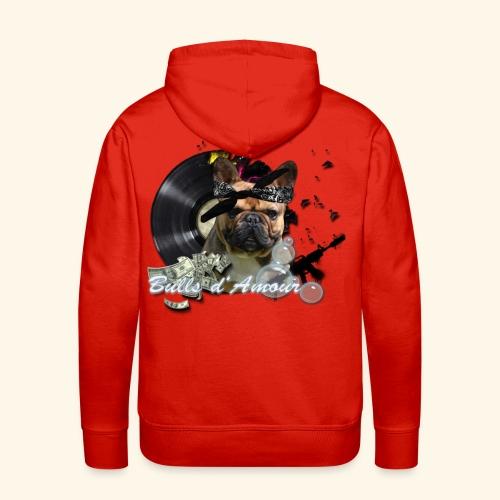 Bullpac vinyl - Sweat-shirt à capuche Premium pour hommes