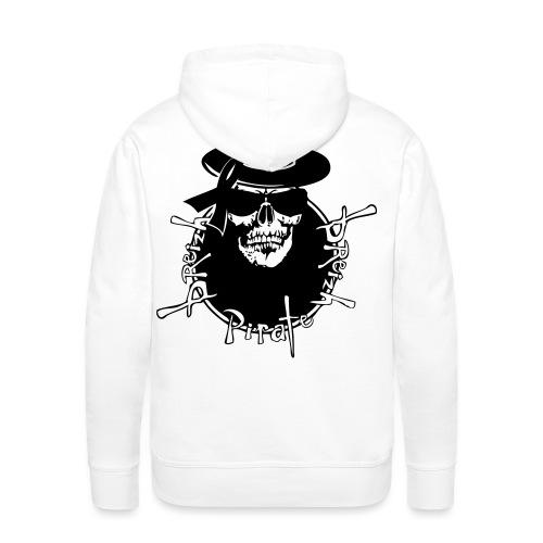 breizh pirate renegade star2 - Sweat-shirt à capuche Premium pour hommes