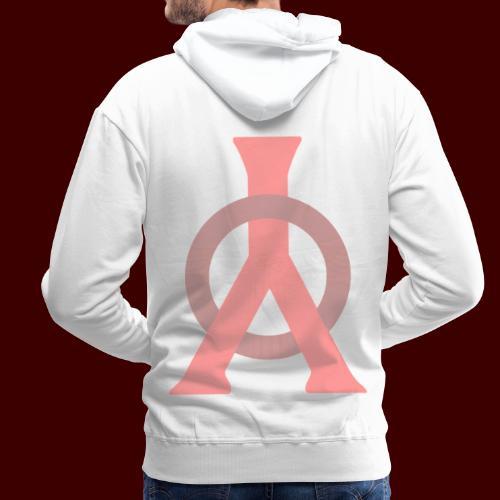 Logo YomBY bs - Sweat-shirt à capuche Premium pour hommes