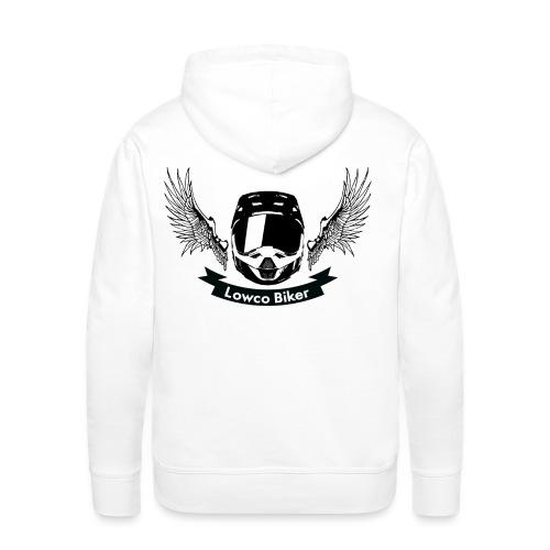 Lowco Biker - Sweat-shirt à capuche Premium pour hommes