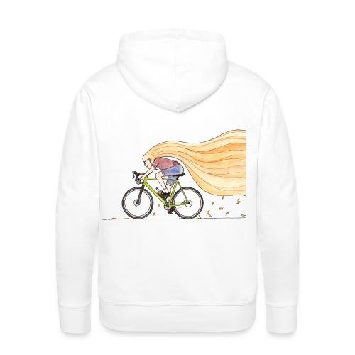 roadbike girl - Männer Premium Hoodie