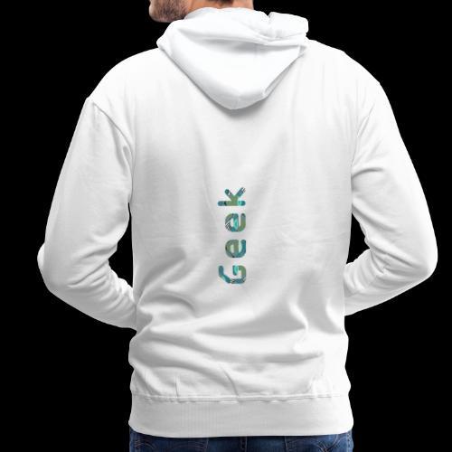 Geek 2.0 - Sweat-shirt à capuche Premium pour hommes