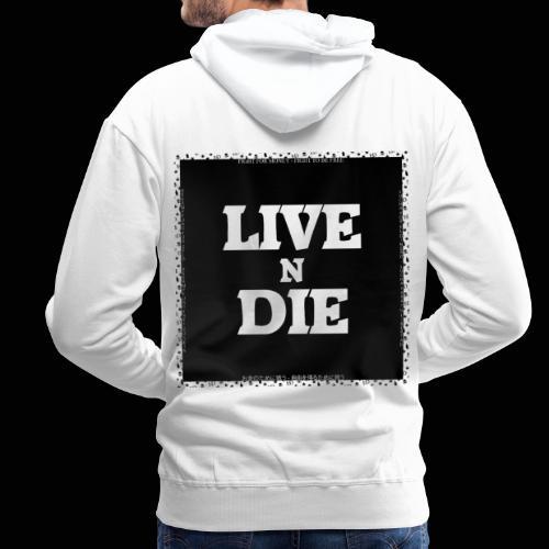 LND BLACK BoX XL - Sweat-shirt à capuche Premium pour hommes