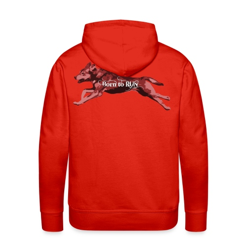 Born_to_Run---light-red.png - Männer Premium Hoodie