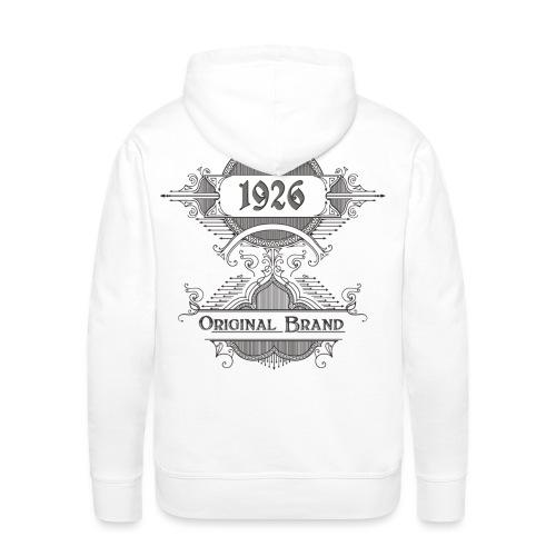 Vintage Original Brand - Männer Premium Hoodie
