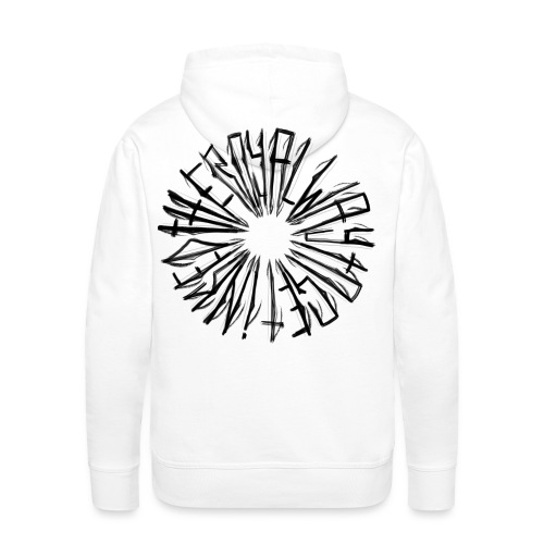 the royal way to get inked - Männer Premium Hoodie