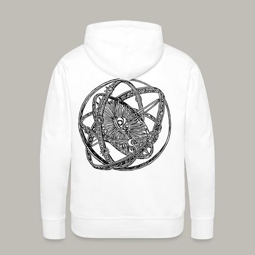 Astrolab - Sweat-shirt à capuche Premium pour hommes