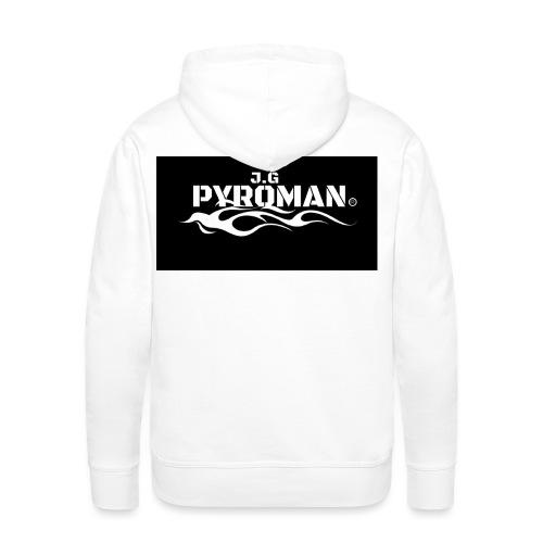 Pyroman1 jpeg - Männer Premium Hoodie
