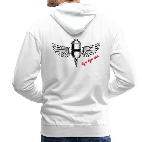 bye bye ink - Mannen Premium hoodie