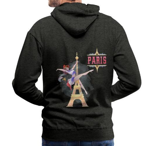 Pole Dance Paris Marianne - Men's Premium Hoodie