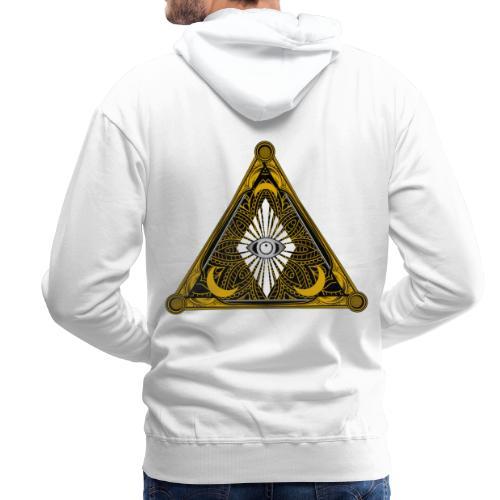 Logo Bores 2 - Sudadera con capucha premium para hombre