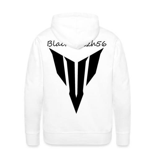logobb56 mt noir png - Sweat-shirt à capuche Premium pour hommes